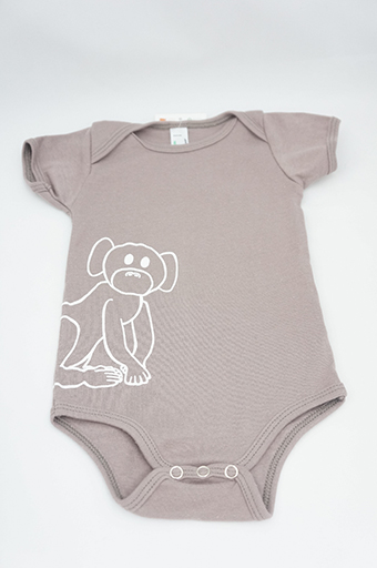 Cinder Monkey One Piece 3-6 Months