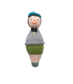 Roly Poly Family Rattle Boy