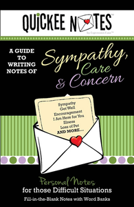 Quickee Notes for Sympathy, Care and Concern