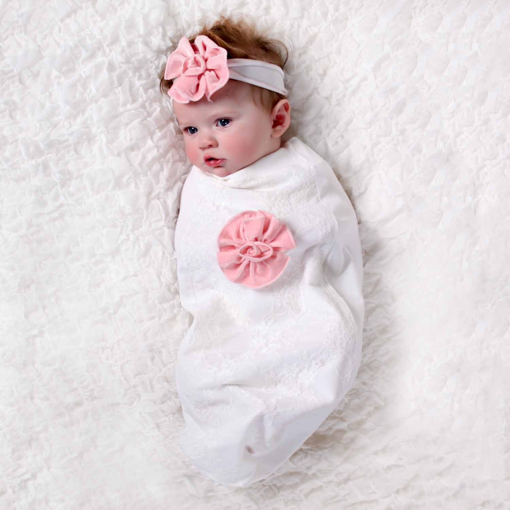Baby Lace and Roses Cozy Cocoon