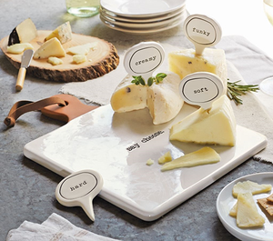 Ceramic Cheese Marker Set