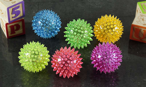Light Up Spikey Balls
