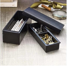 Load image into Gallery viewer, Bagan Pen Box Black