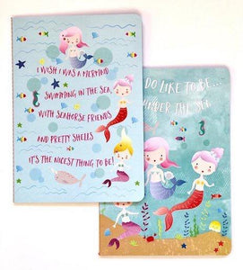 Mermaid Stationery Notebook Set