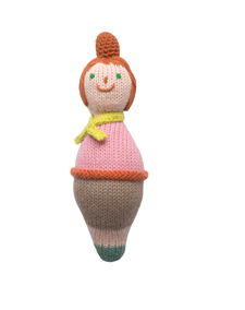 Roly Poly Family Rattle Mom