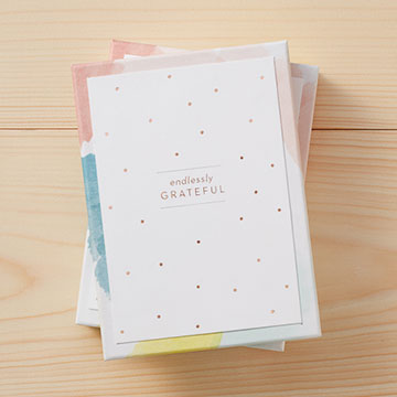 Endlessly Grateful Boxed Note Cards