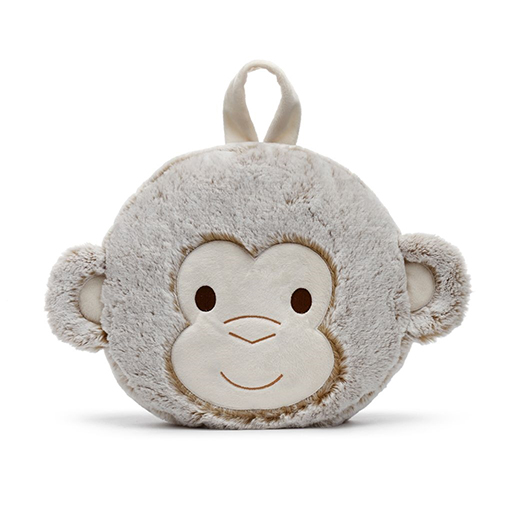 Macey Monkey Blanket and Pillow Set