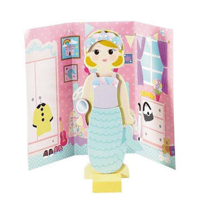 Millie Magnetic Dress Up Wooden Doll