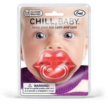 Load image into Gallery viewer, Fred Chill Baby Lips Pacifier