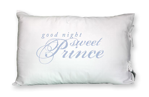 Prince Sleeping Pillowcase, Single