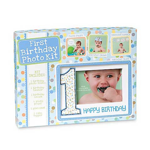 Photo Prop Kit First Birthday Boy