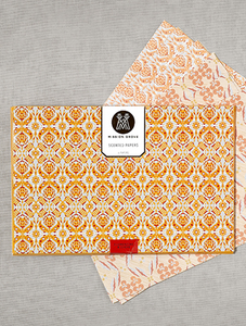 Clementine and Clove Drawer Paper
