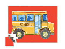 Load image into Gallery viewer, School Bus Mini Vehicle Puzzle