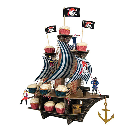 Ahoy There Pirate Ship Centerpiece