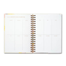 Load image into Gallery viewer, Something Wonderful Is About To Happen 17-Month Undated Planner