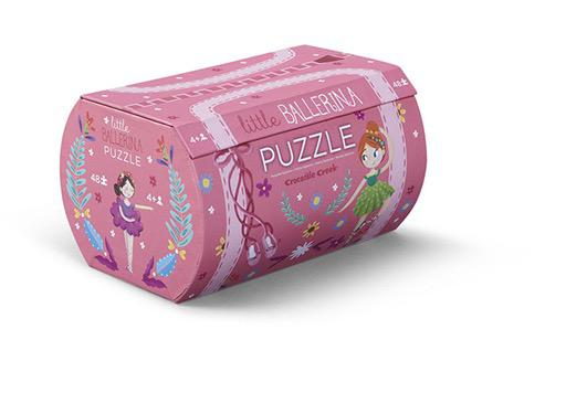 Little Ballerina Double Fun Puzzle
