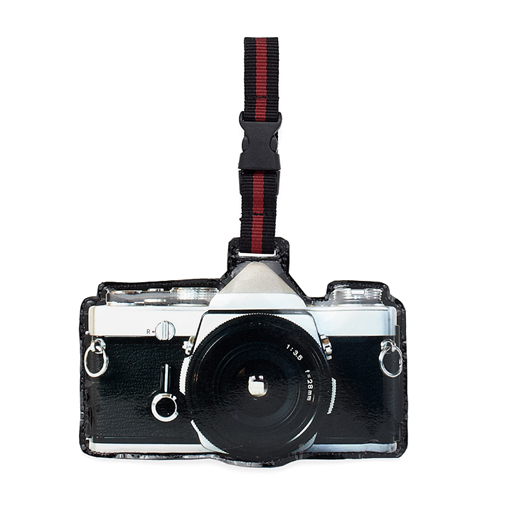 Retro Luggage Tag-Camera