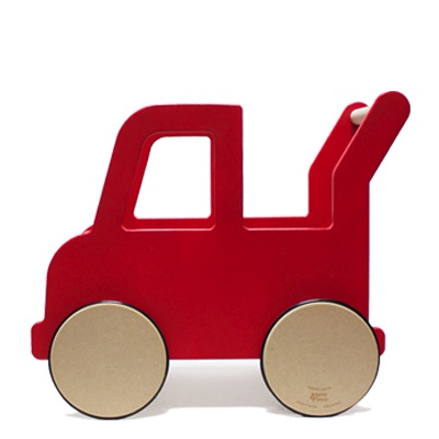 Truck Push Cart Red