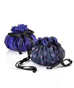 Peacock Jewelry Travel Pouch