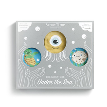 Load image into Gallery viewer, Under the Sea Knee Sock Gift Set