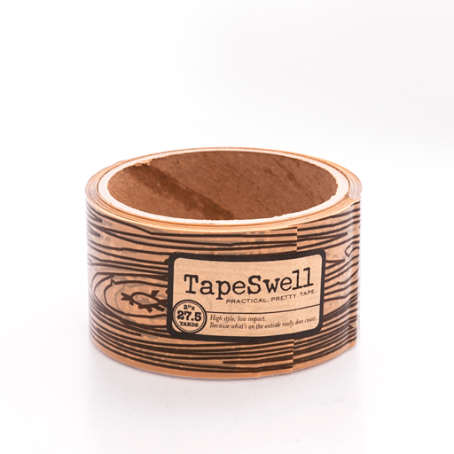 Faux Bois packing tape
