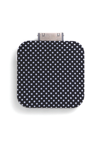 iPhone 4 Compact Battery Black/Ivory Dot