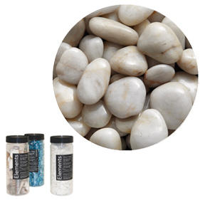 Element Decor Filler-white river stone