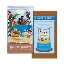 Load image into Gallery viewer, Pirate Party Cake Decorating Kit