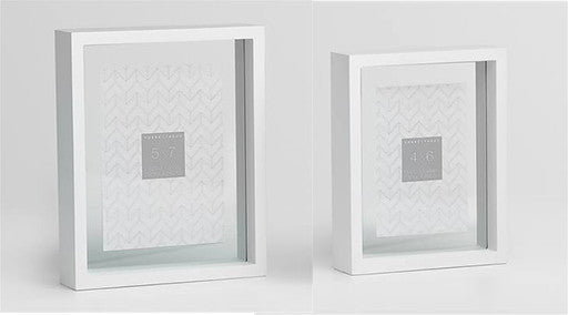 White Preview Floating Box Frame