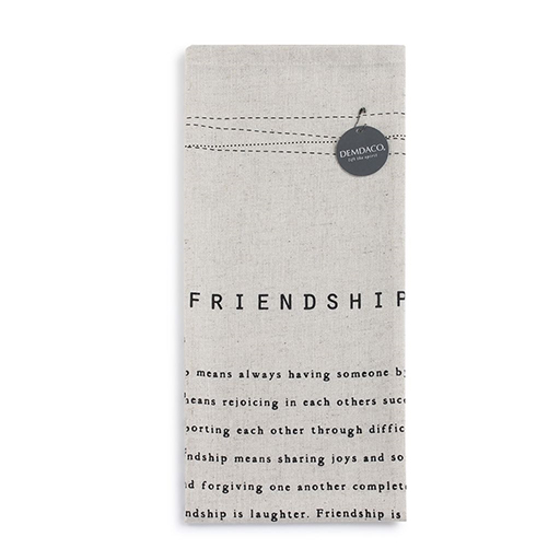 Friendship Tea Towel