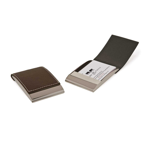 Flip Business Card Holder-Black