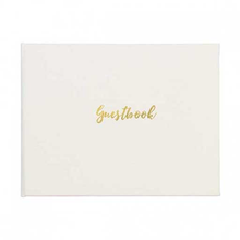 Load image into Gallery viewer, Classic Guest Book Winter White