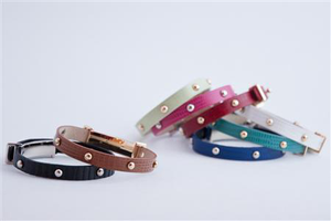 Leather Dots Bracelet