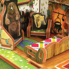 Load image into Gallery viewer, Goldilocks And The Three Bears Book And Play Set