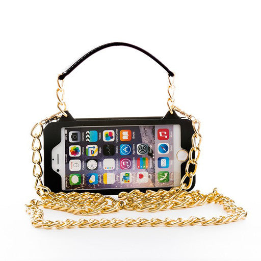 Black with Gold iPhone 6/6s Pursecase