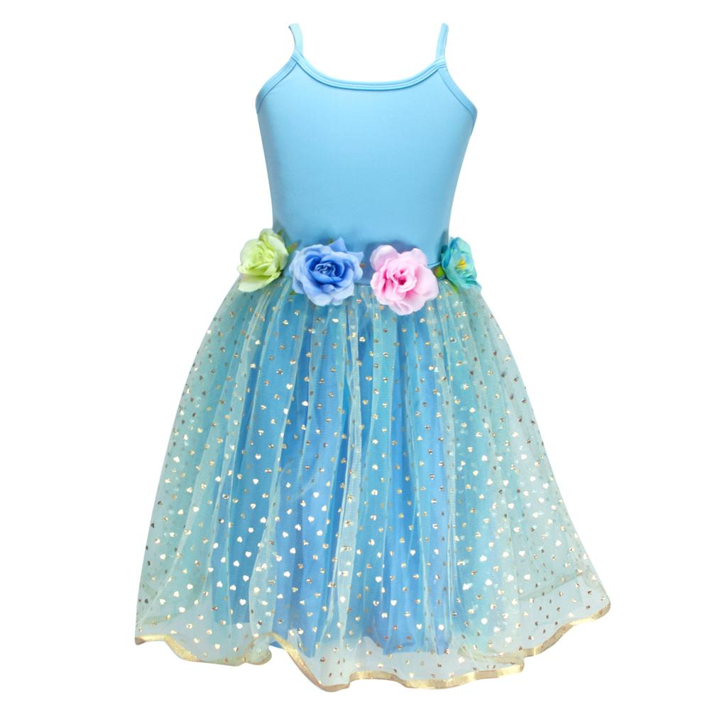 Blue Into the woods dress size 3/4