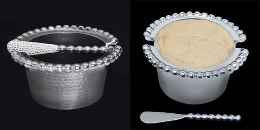 Deligance Pearl Dish with spreader