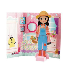 Load image into Gallery viewer, Sophia Magnetic Dress Up Wooden Doll