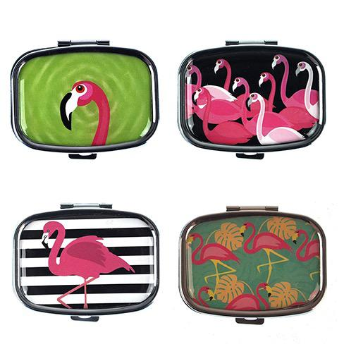 Pill Box Flamingo