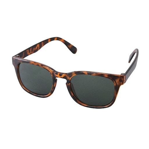 Kids Sunglasses Square Brown