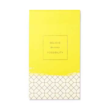 Believe In Every Possibility Large List Pad