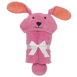 Raspberry Bunny Bath Wrap