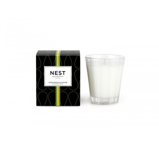 Lemongrass and Ginger Classic Candle