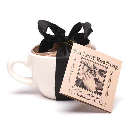 Tea Leaf Reading Kit with Tea Cup