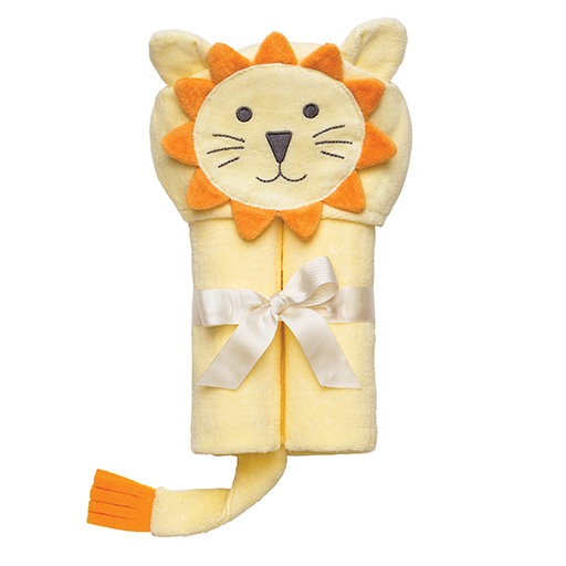 Yellow Lion Bath Wrap