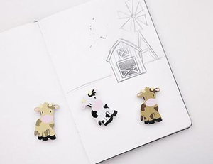 Farm Animal Erasers Assorted