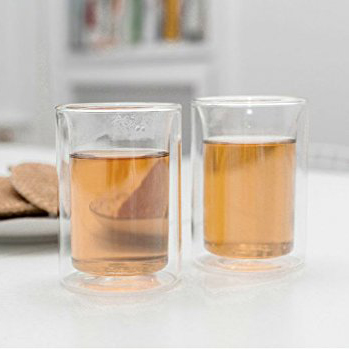 Double Wall Tea Cup Set of 2