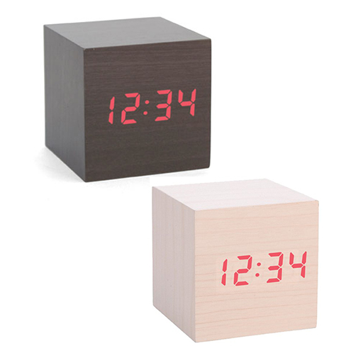 Alarm Clock Wood