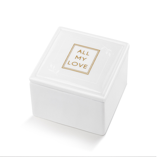 All My Love Ceramic Keepsake Box