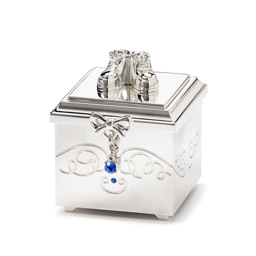 Birthstone September Charm Keepsake Box